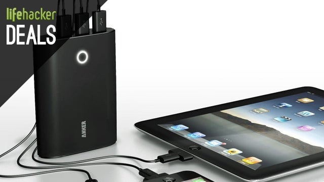 Three-Port Anker Charger, Bluetooth For Any Speaker, Canon T3i [Deals]