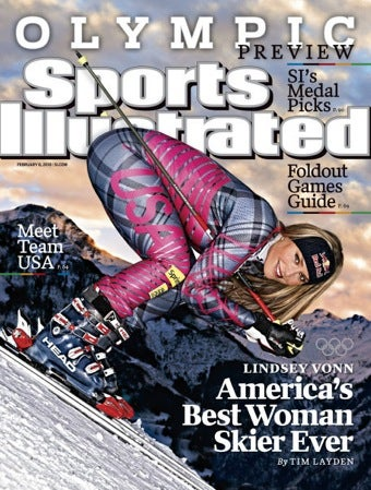 """Lindsey Vonn's """"Sexualized"""" Cover •Your Salad Probably Contains Poop"""