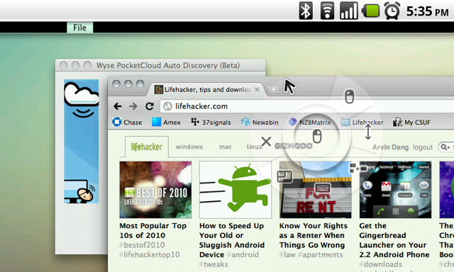 PocketCloud Offers One Touch VNC Setup for Android Devices
