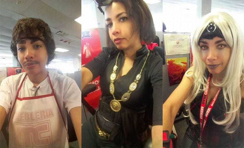 Woman Cosplays To Work To Beat Stupid Dress Code