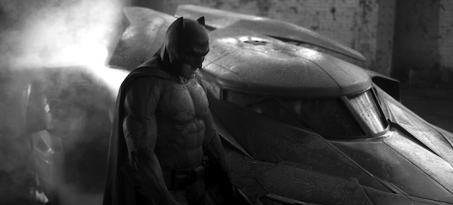 First Look at the Hot New Batmobile From Batman Vs. Superman
