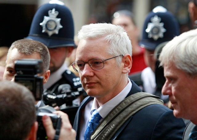 Julian Assange Back In Court Fighting Extradition to Sweden