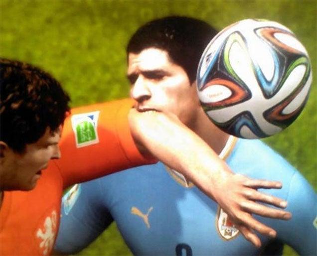 FIFA's Luis Suarez Develops Taste For Digital Flesh