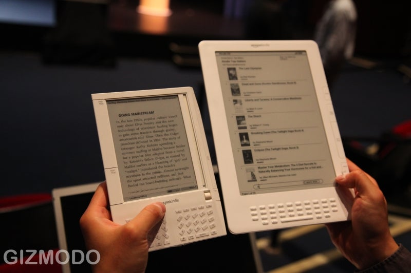 Kindle DX Hands On
