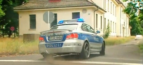 Germans Test Best Cars For A Bank Robbery