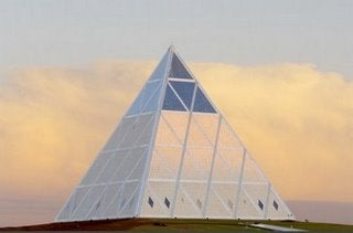 Niiice: Borat's Homeland Gets A Space Pyramid