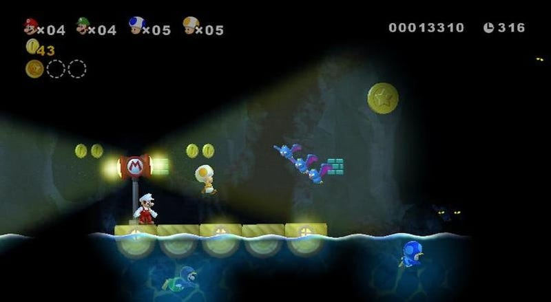 Fifty-Seven Flights Up With New Super Mario Bros. Wii