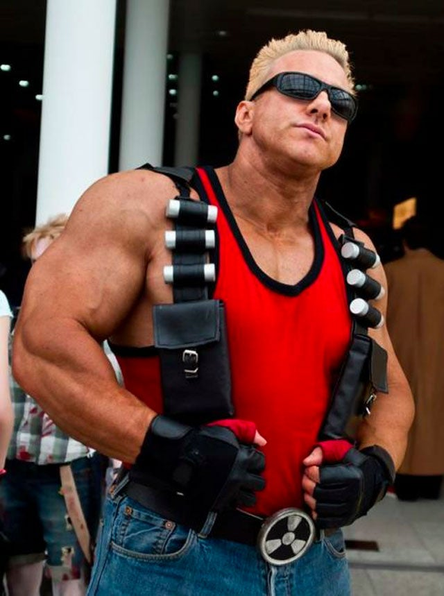 Somehow, This Duke Nukem Cosplay Actually Works