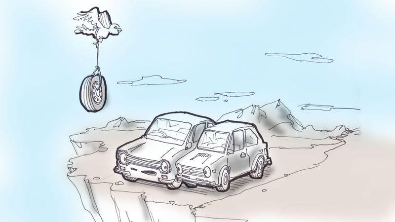 Come! Car Car-toon Caption Contest Contains Cars!