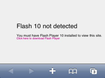 A Reminder of How Sad the Internet Can Look Without Flash