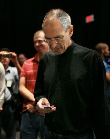Steve Jobs Psychodrama Unfolds at Apple's iPod Event