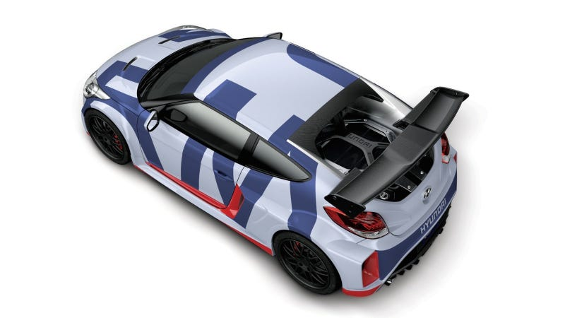 Holy Crap This Is A 300 Horsepower Mid-Engined Hyundai Veloster