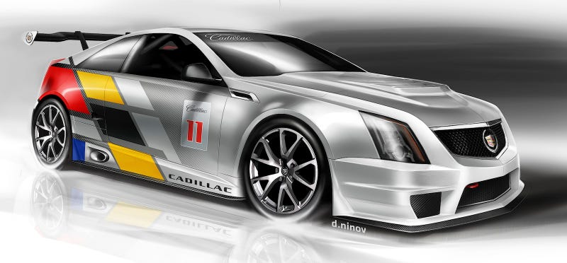 Cadillac Takes CTS-V Coupe Racing Next Year