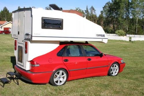 The Saab Camper Is The Ultimate Trollhättan Touristmobile