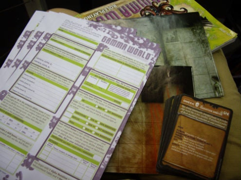 First look inside the Gamma World box