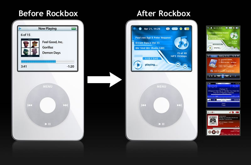Rockbox Replacement MP3 Player Firmware Gets Updated