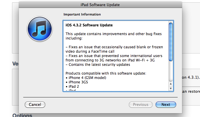 Download iOS 4.3.2 NOW (UPDATED)