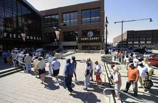 Colts Fans Scalping Tickets to Free Tour of New Lucas-Oil Stadium