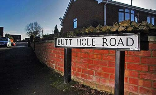 Butt Hole Road Residents Pass New Name