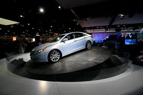 2011 Hyundai Sonata: Los Angeles Auto Show Gallery