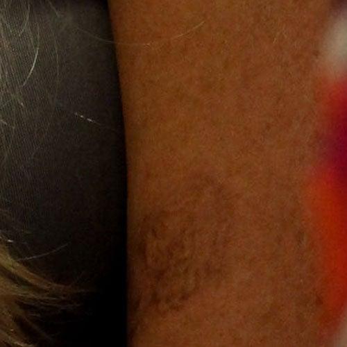 Lindsay Lohan's New 'Secret' Little Girl Tattoo