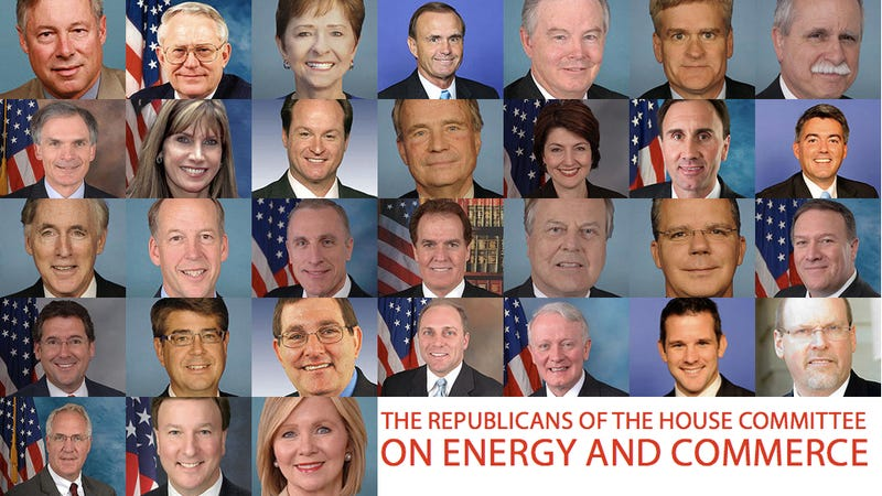 No Republicans on Energy Committee Will Admit Climate Change Is Real