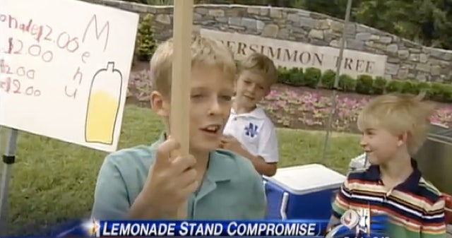 Filthy Rich Kids Allowed To Sell Lemonade Outside U.S. Open For Charity After All