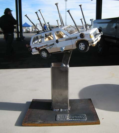 The Trophies of the 24 Hours of LeMons