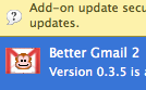 Better Gmail 2 Fixes Posted