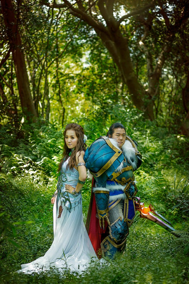 Ain't No Wedding Like An Incredible World Of Warcraft Cosplay Wedding