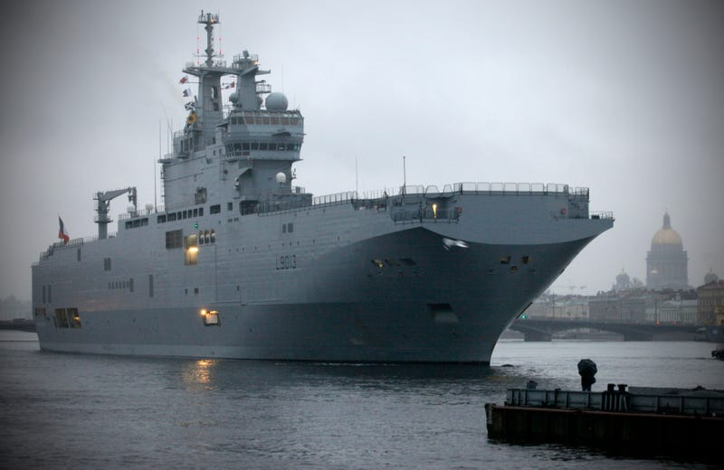 France Withholds Delivery Of Amphib Aircraft Carriers From Russia