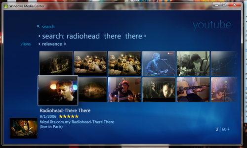 MacroTube Brings YouTube and Other Online Video to Windows Media Center