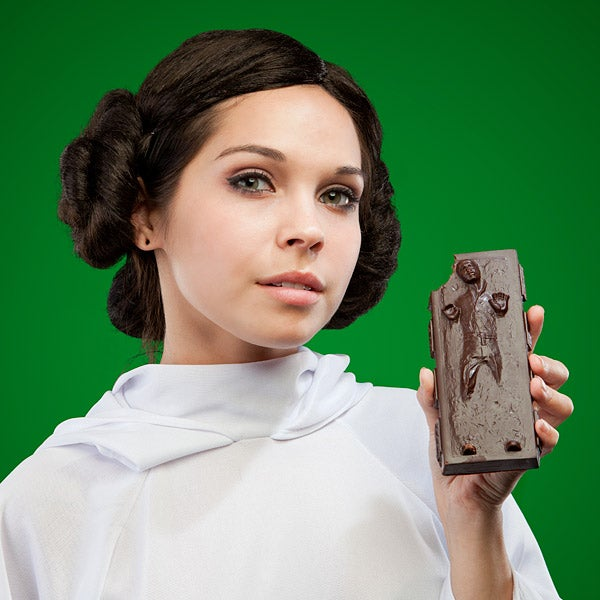This Carbonite-Frozen Han Solo Is the Only Chocolate I Want This Holiday Season