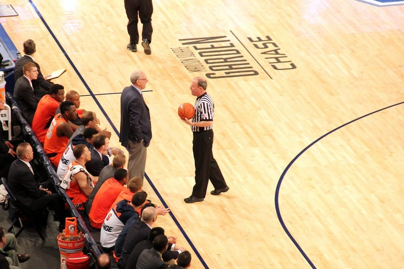 The Art Of Screwing Up: How NCAA Refs Live With Their Mistakes