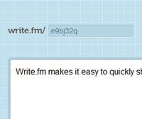 Write.fm Offers Super Simple Text and Attachment Sharing