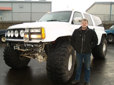 GMC Suburban with 49 Inch Tires Will Stop At Nothing