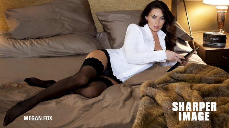 Megan Fox Loves Sharper Image and Wants to Have Sex with You