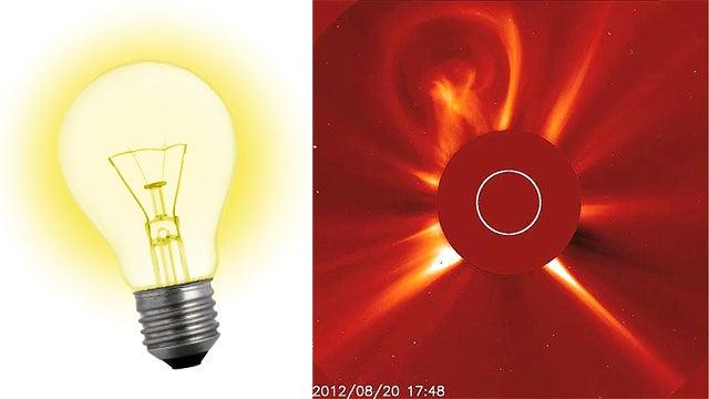 The Sun Made This 5.2-Million-Mile Tall Light Bulb