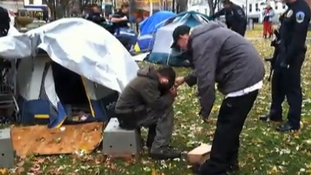 War Vet Shoots Himself at Occupy Burlington