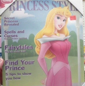 """Disney Pushes Princess """"Lifestyle"""" In Ladymag Form"""