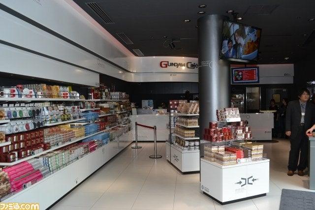 Drink Gundam Coffee, Eat Gundam Churros, Buy Gundam Things