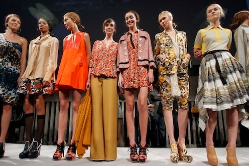 Spring Is Basically All 70s, All The Time At Chris Benz