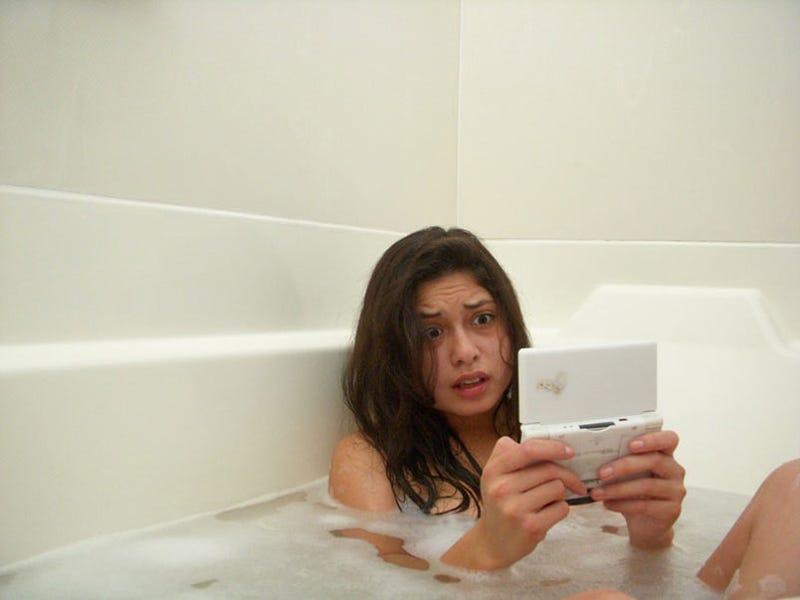 Bathtub Gaming Goes Awry