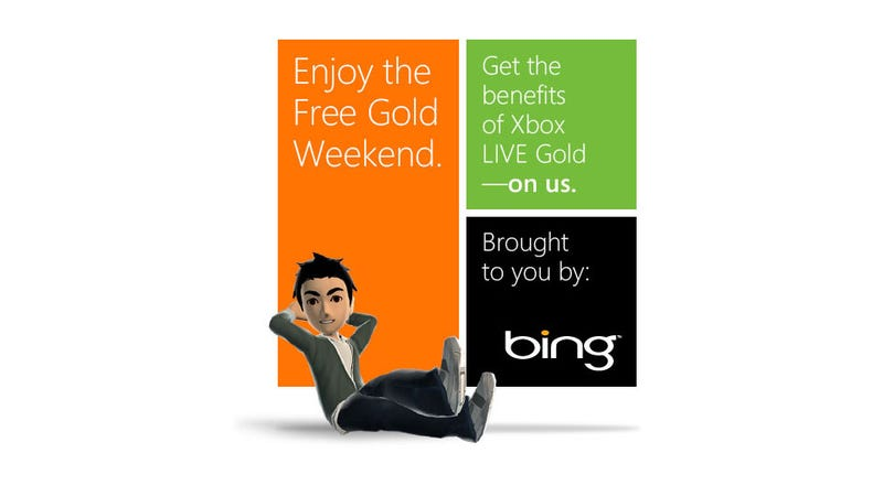 Free Gold (Four Day) Weekend Starts Today On Xbox Live