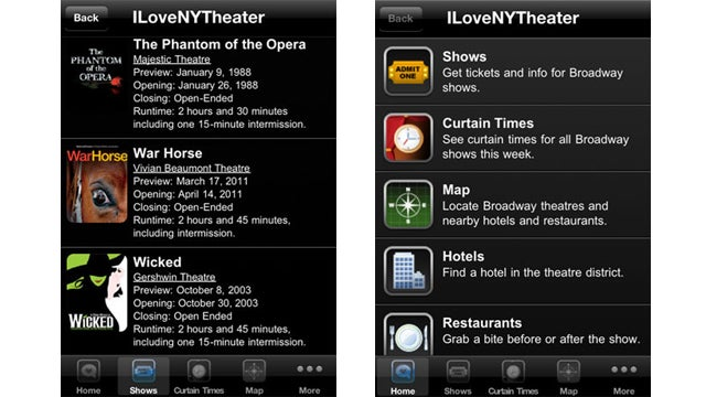 ILoveNYTheater App: A Fandango for Broadway
