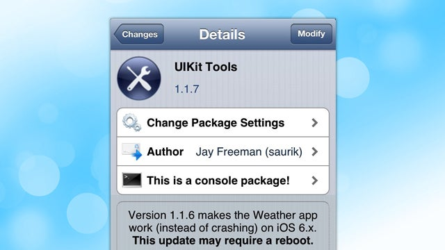 iOS Patch Released in Cydia, Fixes the Broken Weather App on Jailbroken iOS 6