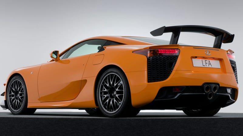 Lexus LFA's Carbon Fiber Tech Heads To The London Design Museum