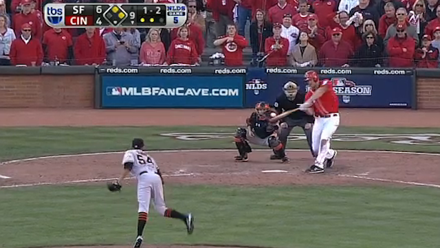 The Reds' Season Ended With Scott Rolen Whiffing On A Hanging Slider