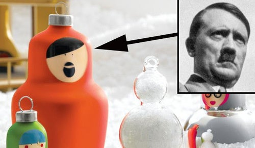 Does This Christmas Ornament Look Like Hitler?