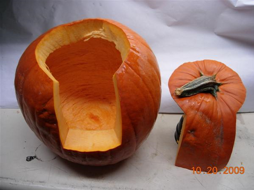 Carve a Candle-Friendly Pumpkin Hatch